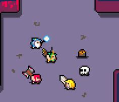 Heroes of Loot in style? could it get any cuter? Game Character Design, Game Design, Character Art, Sprites, Pixel Art Background, Cool Pixel Art, League Of Legends, Pixel Characters, 8 Bit Art