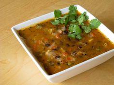 Ginger & Garlic: Black bean curry
