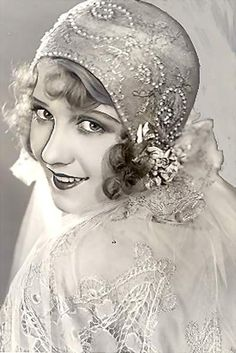 """Anita Page~the last of the silent screen sirens. She was once considered """"The girl with the most beautiful face in Hollywood."""""""