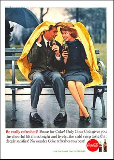 1960-Coke- be really refreshed