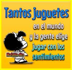 Juguetes... Mafalda