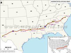 I 20 Louisiana Map.136 Best Travel Destinations Images Destinations Places To Travel