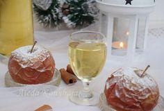 Aleda konyhája: Karácsony Pavlova, White Wine, Alcoholic Drinks, Glass, Food, Caramel, Drinkware, Corning Glass, Essen