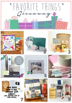 A Few of My Favorite Things: A Holiday Giveaway - ellie petrov