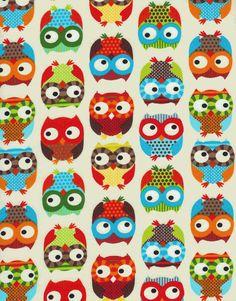 colorful owls! @Ashton Jones