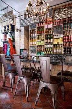 18 Fresh & Simple Restaurant Interiors