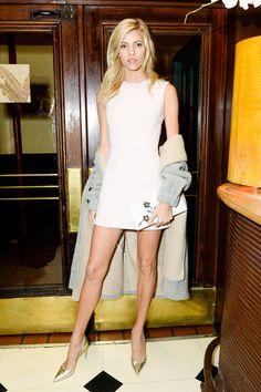 Devon Windsor in Dior - October 2016
