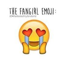 The fan girl emoji, we need this