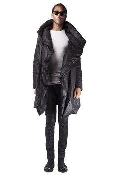 Julius - Leather down coat // AW15 // Shop at Sprmrkt Amsterdam