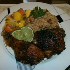 You have no reason to trust me, but do. This is the best at home oven jerk chicken recipe. Read the reviews. Yum!