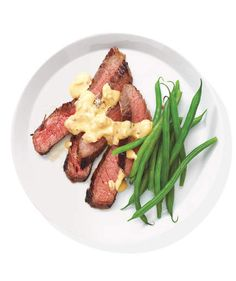 Steak With Mustard-Shallot Sauce | Looking for dinners the whole family will enjoy? These inspired (yet inexpensive) recipes easily make the cut.