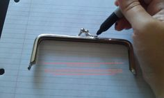 A cricket's blog: Metal Frame Purse Tutorial