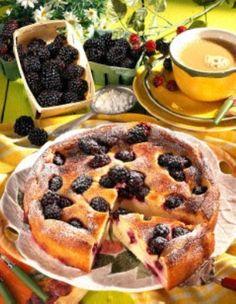 Quark-Grieß-Brombeer-Kuchen