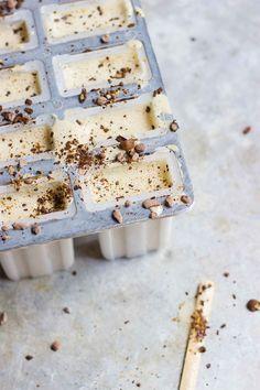 Vegan Creamy Iced Coffee Pops   @With Food + Love