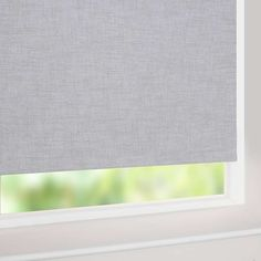 Blinds in every style and colour for your home. Dunelm offer an extensive range of roller, venetian, roman and blackout blinds to buy online from Dunelm today. Nursery Blinds, Blackout Blinds, Roller Blinds, New Room, Guest Room, Gray Color, New Homes, Curtains, Living Room