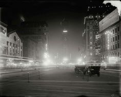 Times Square in New York City, 1911