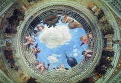 Andrea Mantegna 064 - Плафон (архитектура) — Википедия. Плафонная живопись.