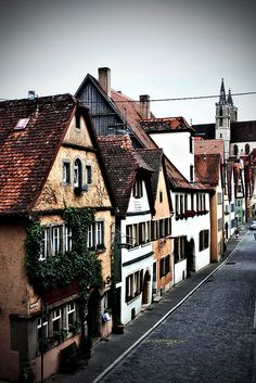 Rothenburg, Germany✔️.....It's my favorite town in Germany. Many hours have been spent walking those cobbled streets and enjoying the beauty ........