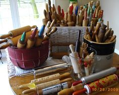 Another Porch ...A Poetry Blog: Rolling Pin Collection