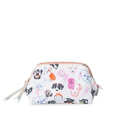 a296eb9fe Buy the Family Portrait Make Up Bag at Oliver Bonas. Enjoy free worldwide  standard delivery