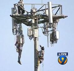 Cell Tower News: OSHA Cites Pinpoint; 150ft Climber Rescue