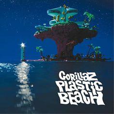 Gorillaz - Plastic Beach [Cd] Explicit, With Dvd, Deluxe Edition, Brilliant Mos Def, Trip Hop, Gorillaz Plastic Beach, Beach Night, Pochette Album, Little Dragon, Melancholy, Print Pictures, Room Pictures