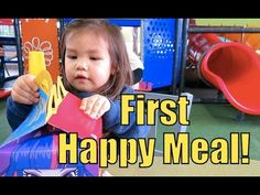 Toddler's Very First Happy Meal! - April 26, 2015 -  ItsJudysLife Vlogs