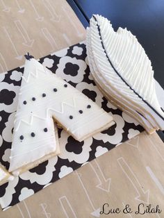Amazing cookies at a tribal birthday party! See more party ideas at CatchMyParty.com!
