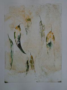 Leaves I, Monoprint