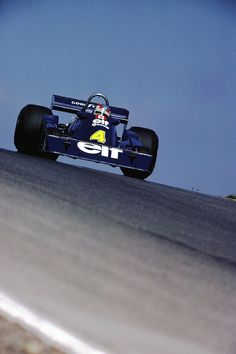 """legendsofracing: """"Patrick Depailler in the Tyrrell P34 at the Canadian Grand Prix, 1976. """""""