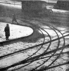 Edward Heim - April Snow, New York, 1920s