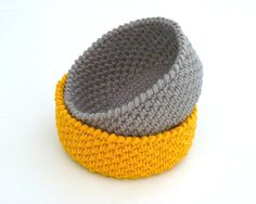 Crochet Basket Pattern Crochet Round Basket Crochet by sewzpassion