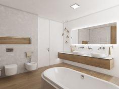 Moderní koupelna PRIMAVERA - vizualizace