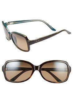 Maui Jim 'Cloud Break' 56mm Polarized Sunglasses available at #Nordstrom