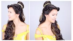 I hope you love this Disney Princess half updo! Tell me which princess you want to see next in the comments! I'm sorry this is up a day late. I planned to fi...