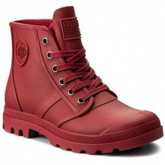 30829cd396d PALLADIUM Hiking Boots Pampa Hi Rain U 75556692M Rio Red  hikeboots