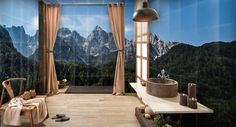 Amazing interior You live in the mountains?