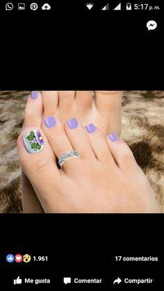 Uk Nails, Feet Nails, Hair And Nails, Pedicure Designs, Toe Nail Designs, Acrylic Nail Designs, Pretty Toe Nails, Cute Toe Nails, Finger Nail Art