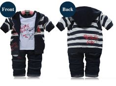 Boys Sets 2015 New High Quality Baby Tracksuit Hoodie Jeans Pants T Shirt 3 Pcs Set Roupas Infantis Children Clothes Boys Sets-in Clothing Sets from Mother & Kids on Aliexpress.com | Alibaba Group