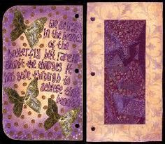 Altered Notebook#2 - by Ingrid Dijkers