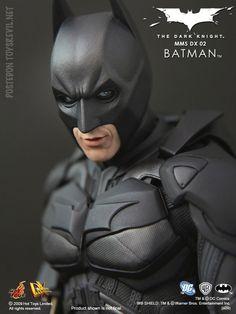 Batman - The Dark Knight: Batman, Deluxe-Figur (voll beweglich), Hot Toys Batman The Dark Knight, Batman Gotham Knight, The Dark Knight Trilogy, Arkham Knight, Batman Vs Superman, Batman Arkham, Super Hiro, American Firefighter, Batman Collectibles