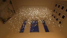Gorgeous Light Shower Chandelier by Bruce Munro - My Modern Metropolis