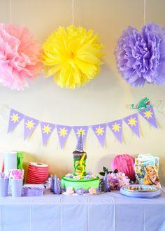 A Rapunzel party!