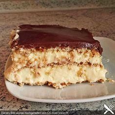 Eclair-Kuchen, ein gutes Rezept aus der Kategorie Backen. Bewertungen: 6. Durchschnitt: Ø 3,8.