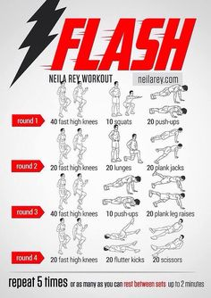 Flash Workout / Superhero Workouts