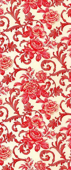 Flowers Fondos Vintage Ideas For 2019 Fabric Wallpaper, Pattern Wallpaper, Wallpaper Backgrounds, Wallpapers, Textile Patterns, Print Patterns, Decoupage Paper, Vintage Paper, Background Patterns