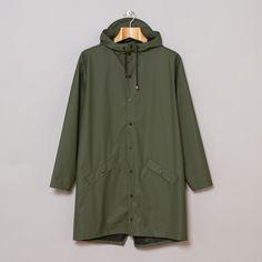 Rains long jacket.