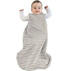 Baby Sleeping Bag, 4 Season Basic Merino Wool Wearable Blanket, 0-6 Months, Earth - $69.99
