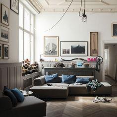 Rolf Benz - freistil 184 Lounge-Sofa im ikarus…design shop