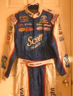 Bobby Labonte NASCAR SPARCO racing suit- autographed!